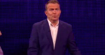 Bradley Walsh kiss The One Show