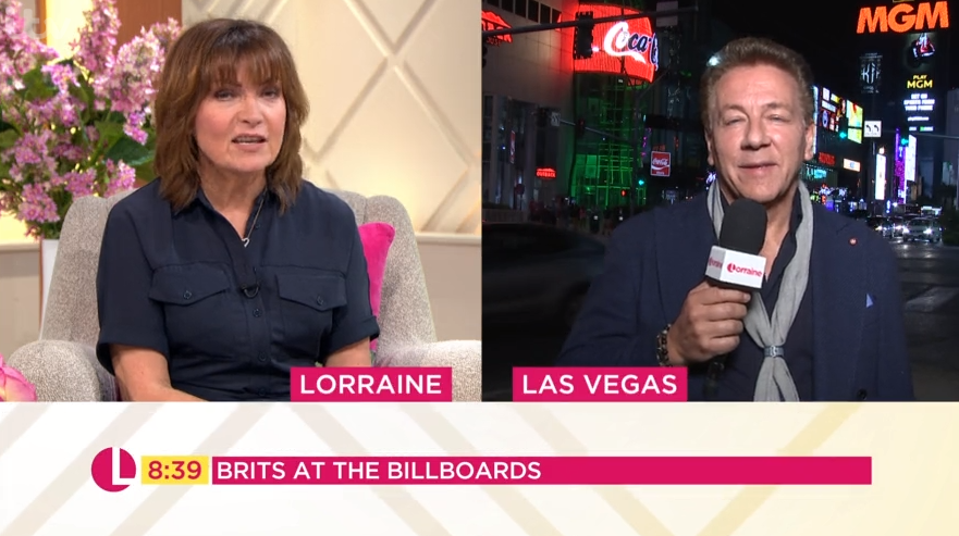 Ross King accidentally broadcasts in front of prostitutes advert on Lorraine