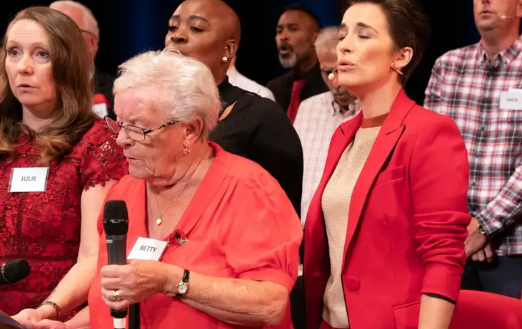 Viewers moved to tears by Our Dementia Choir with Vicky McClure