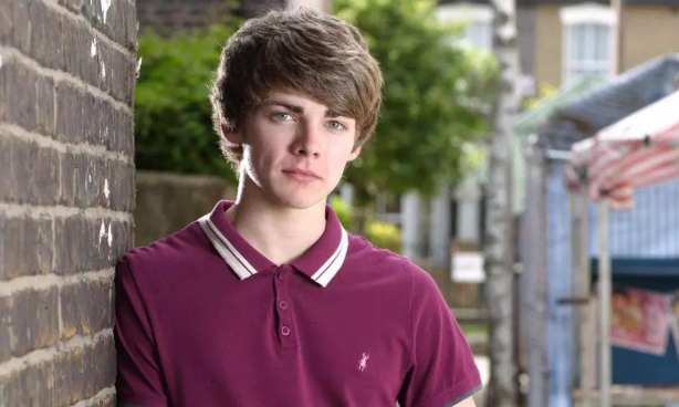 Former EastEnders star Thomas Law as Peter Beale