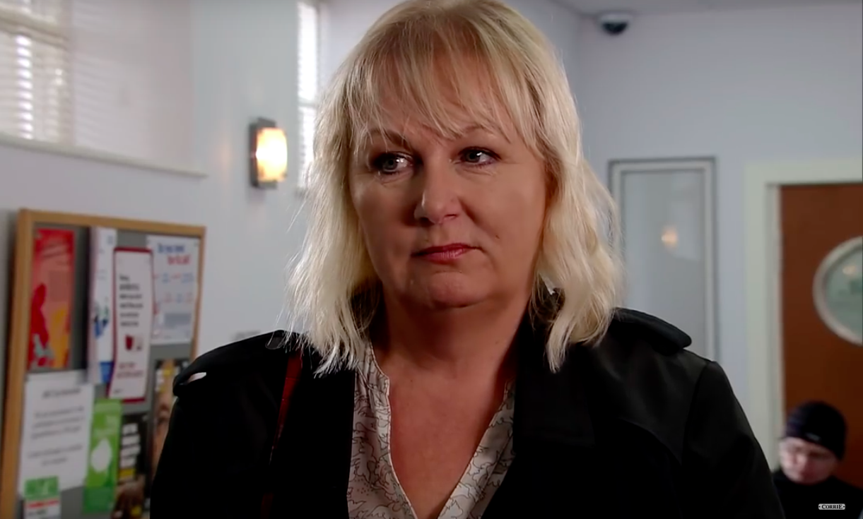 Coronation Street's Eileen Grimshaw to be 'placed in witness protection'