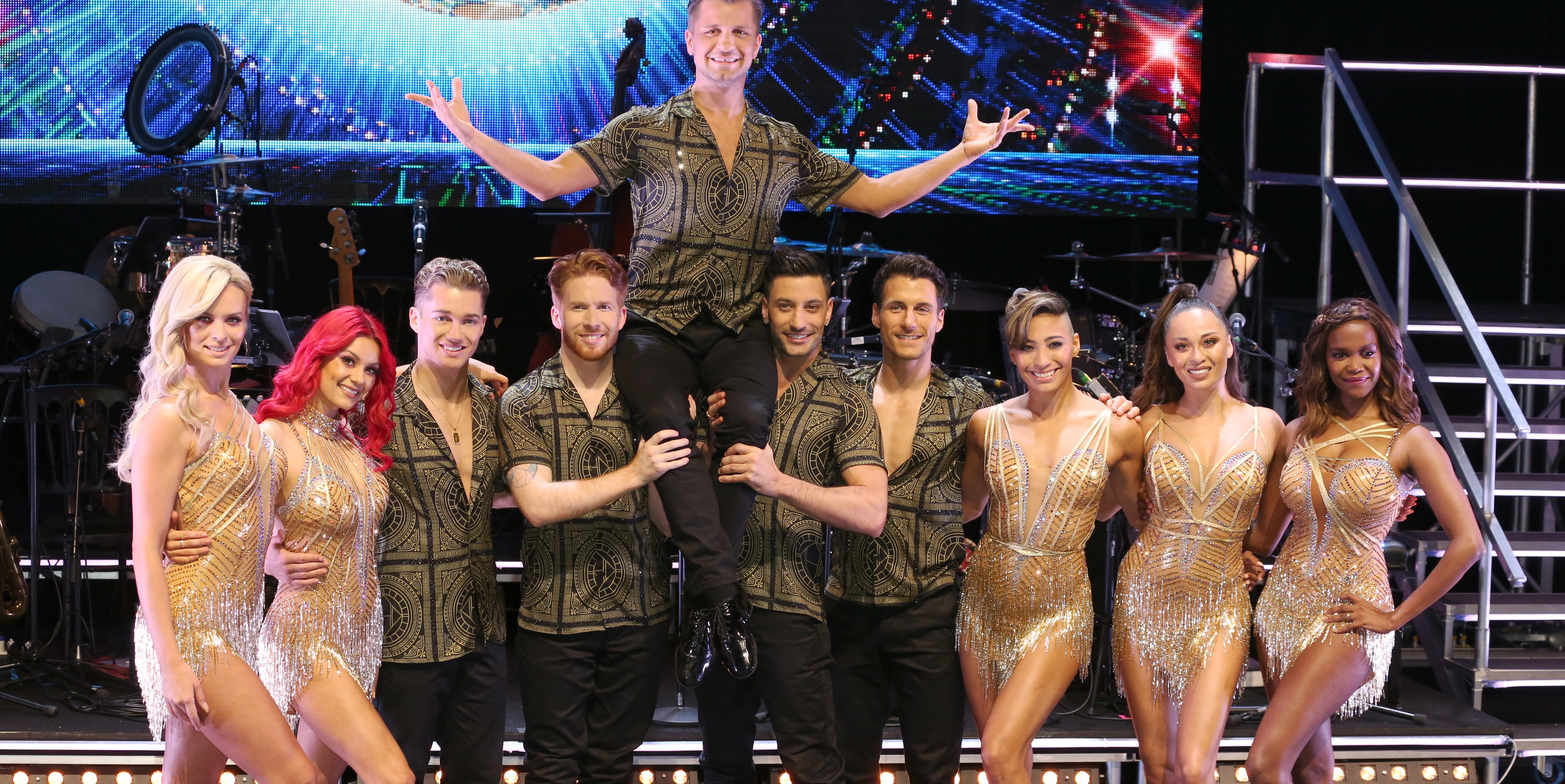 Strictly pros cancel meet and greets during live tour