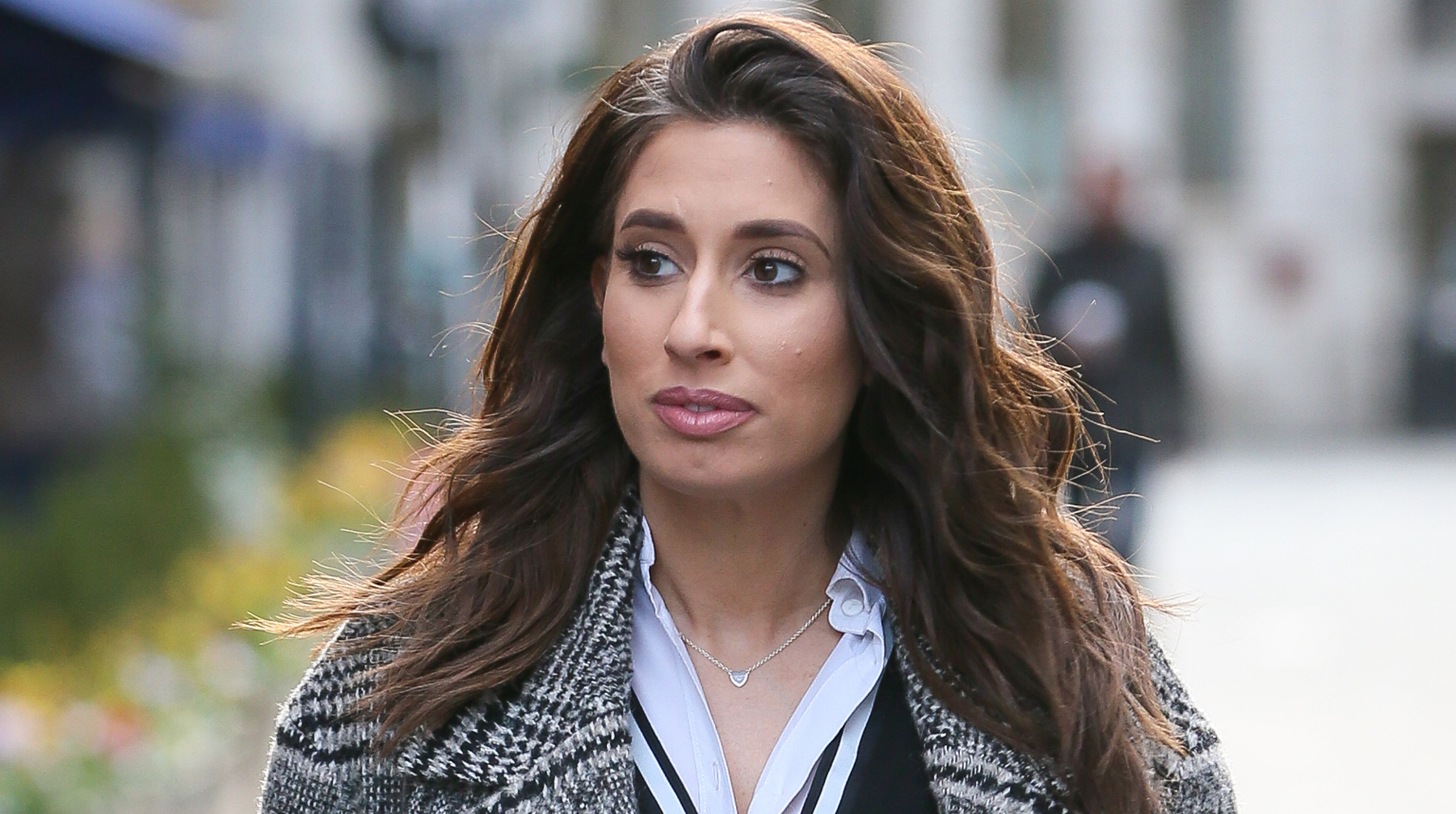 "Stacey Solomon felt too ""vulnerable"" to leave the house after giving birth"