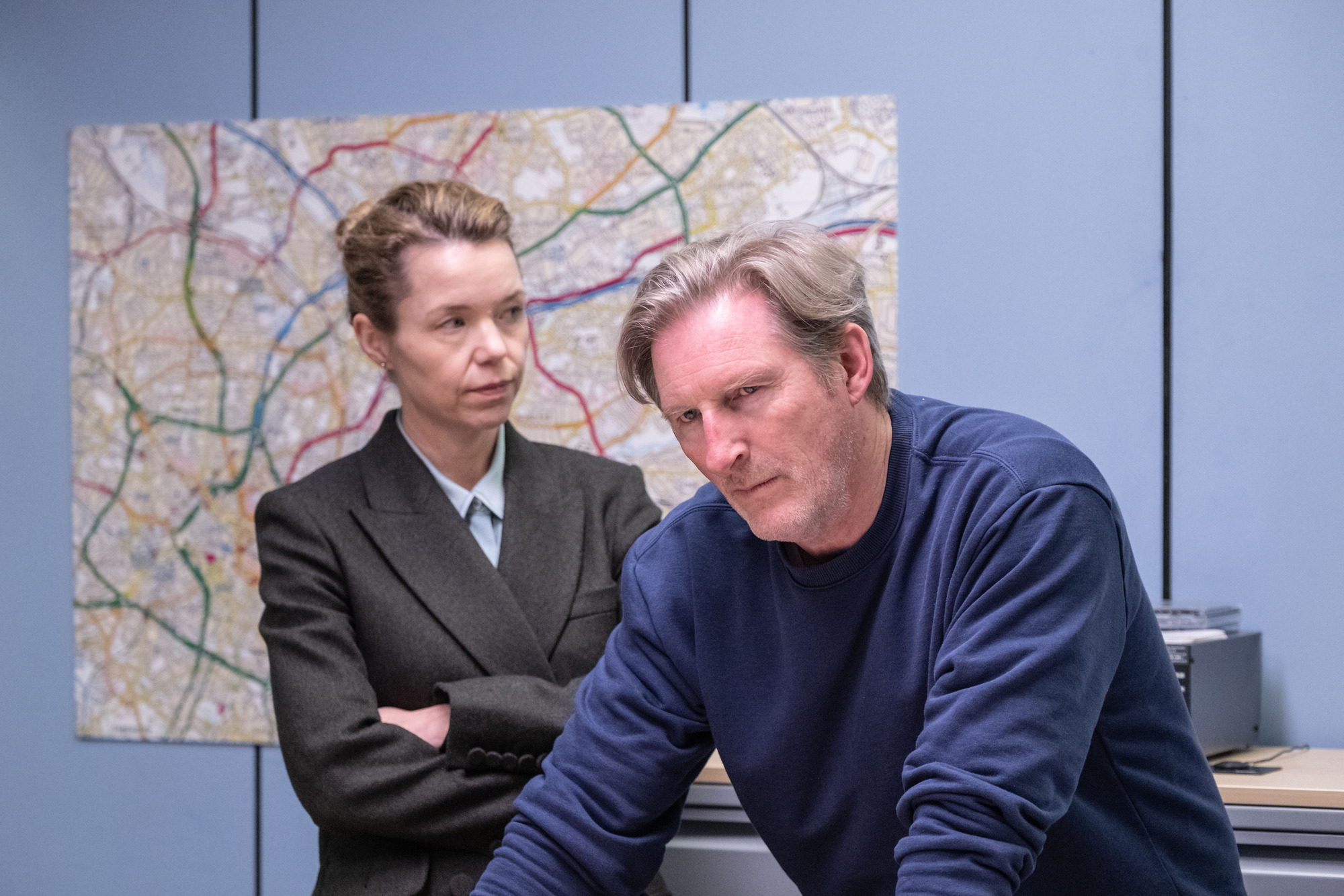 Anna Maxwell Martin starred as Carmichael (Credit: BBC One)
