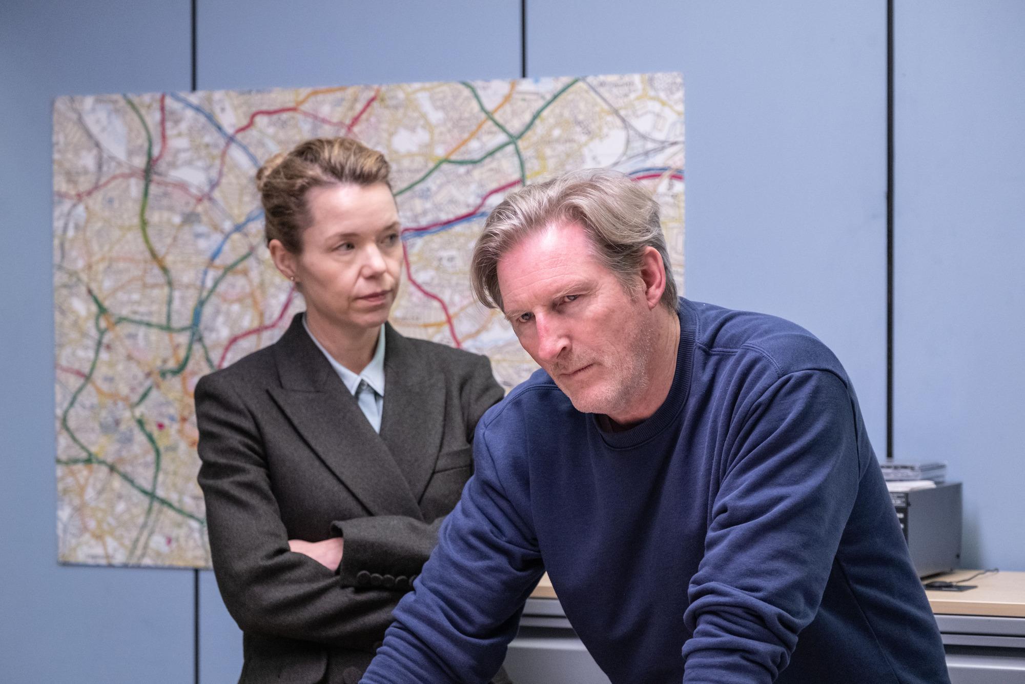 Anna Maxwell Martin starred as Carmichael (Credit: BBC One)