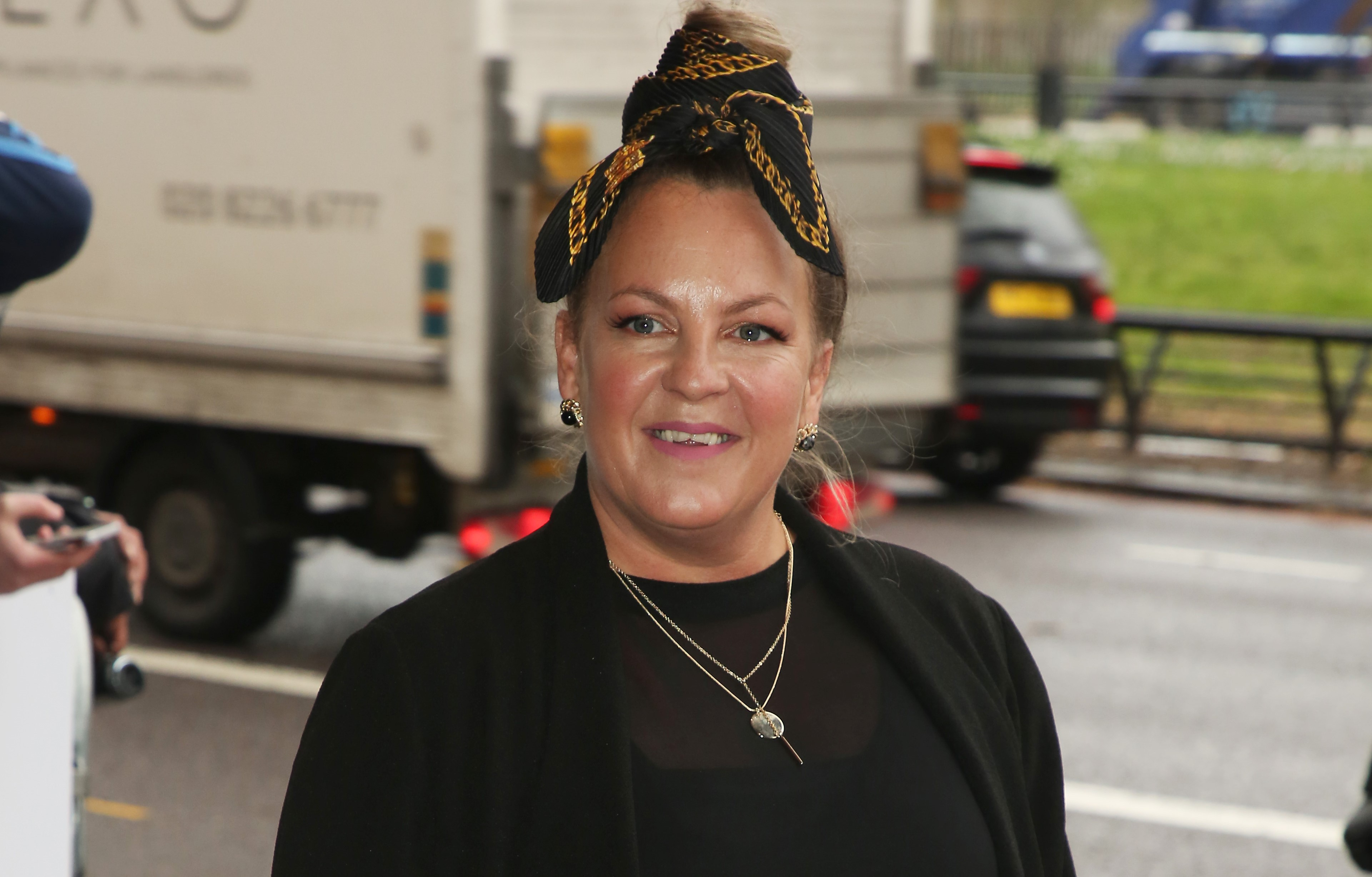EastEnders star Lorraine Stanley shares picture with her other half to celebrate her birthday