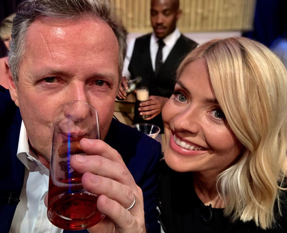 Holly Willoughby Piers Morgan Instagram