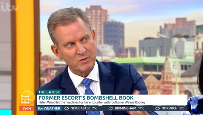 Jeremy Kyle clashes with Helen Wood over Wayne and Coleen Rooney on Good Morning Britain