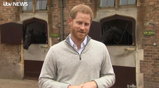 Prince Harry announces birth of son