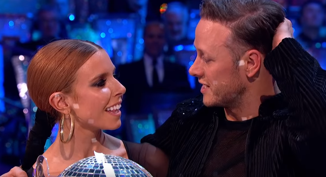 Stacey Dooley 'hides hand' on night out with Kevin Clifton