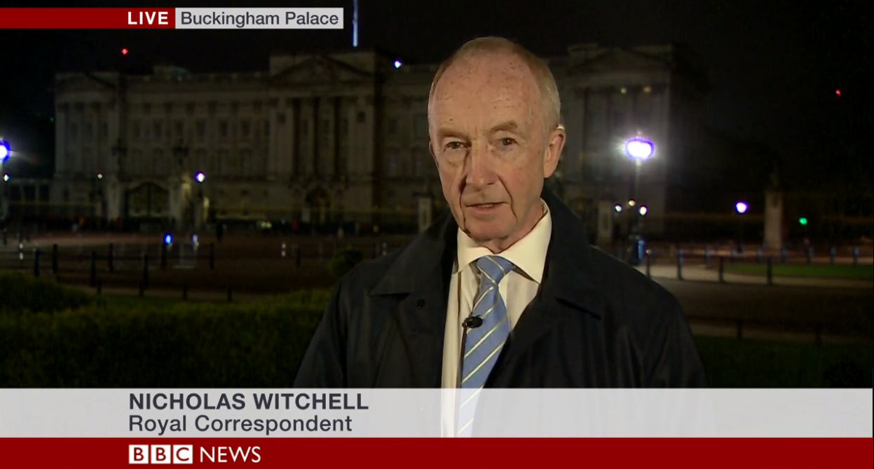 Nicholas Witchell Credit: BBC