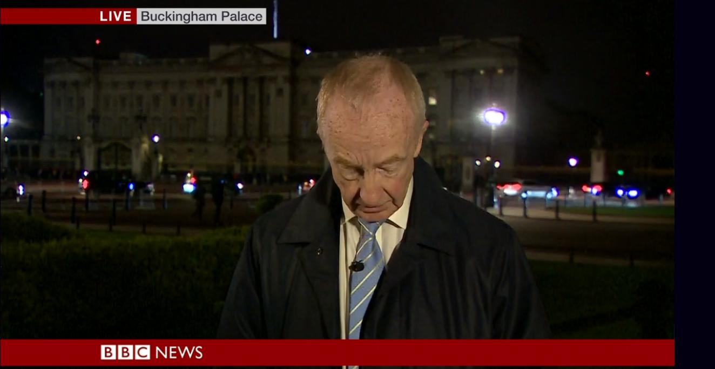 Nicholas Witchell BBC News Credit: BBC
