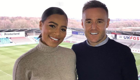Friends of Corrie's Alan Halsall and Tisha Merry 'relieved their relationship is out in the open'