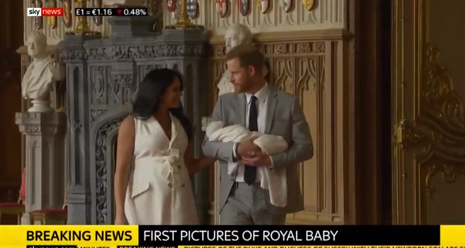 Duke and Duchess of Sussex's newborn son Archie named after a CAT?