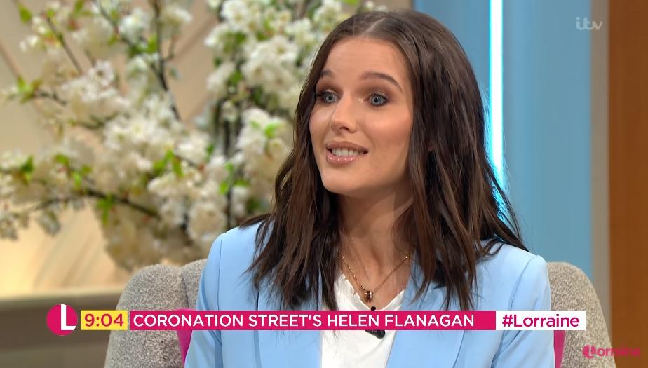 Helen Flanagan on Lorraine