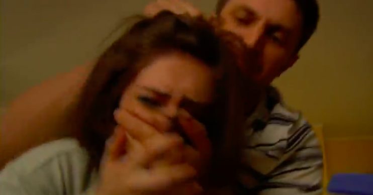 Victoria raped in Emmerdale