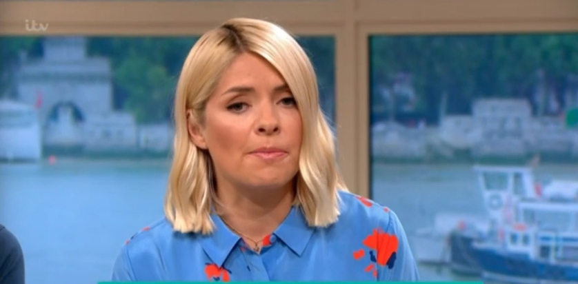 Holly Willoughby mocked for looking like a 'tin of Cadbury's Roses chocolates' on This Morning