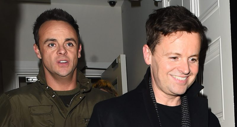 Ant and Dec fans fuming as BAFTA organisers put their seats wrong way round