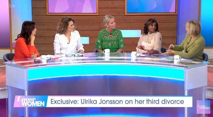 Ulrika Jonsson on Loose Women