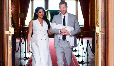 Harry Meghan Archie Photo cred: Chris Allerton ©️SussexRoyal