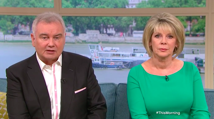 This Morning viewers baffled as Ruth Langsford is forced to present alone
