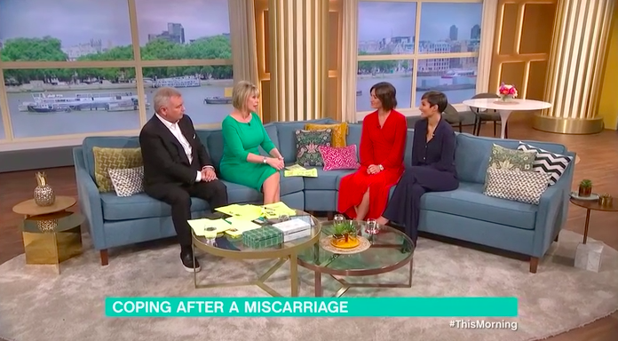 Victoria Cook Frankie Bridge This Morning