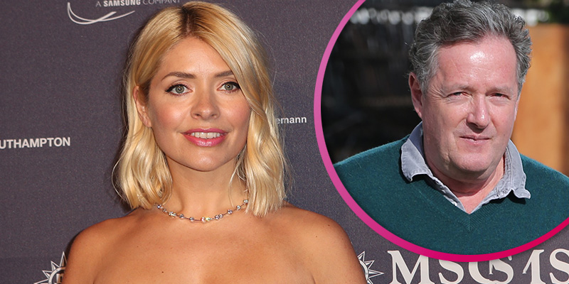 Holly Willoughby makes dig at 'old man' Piers Morgan