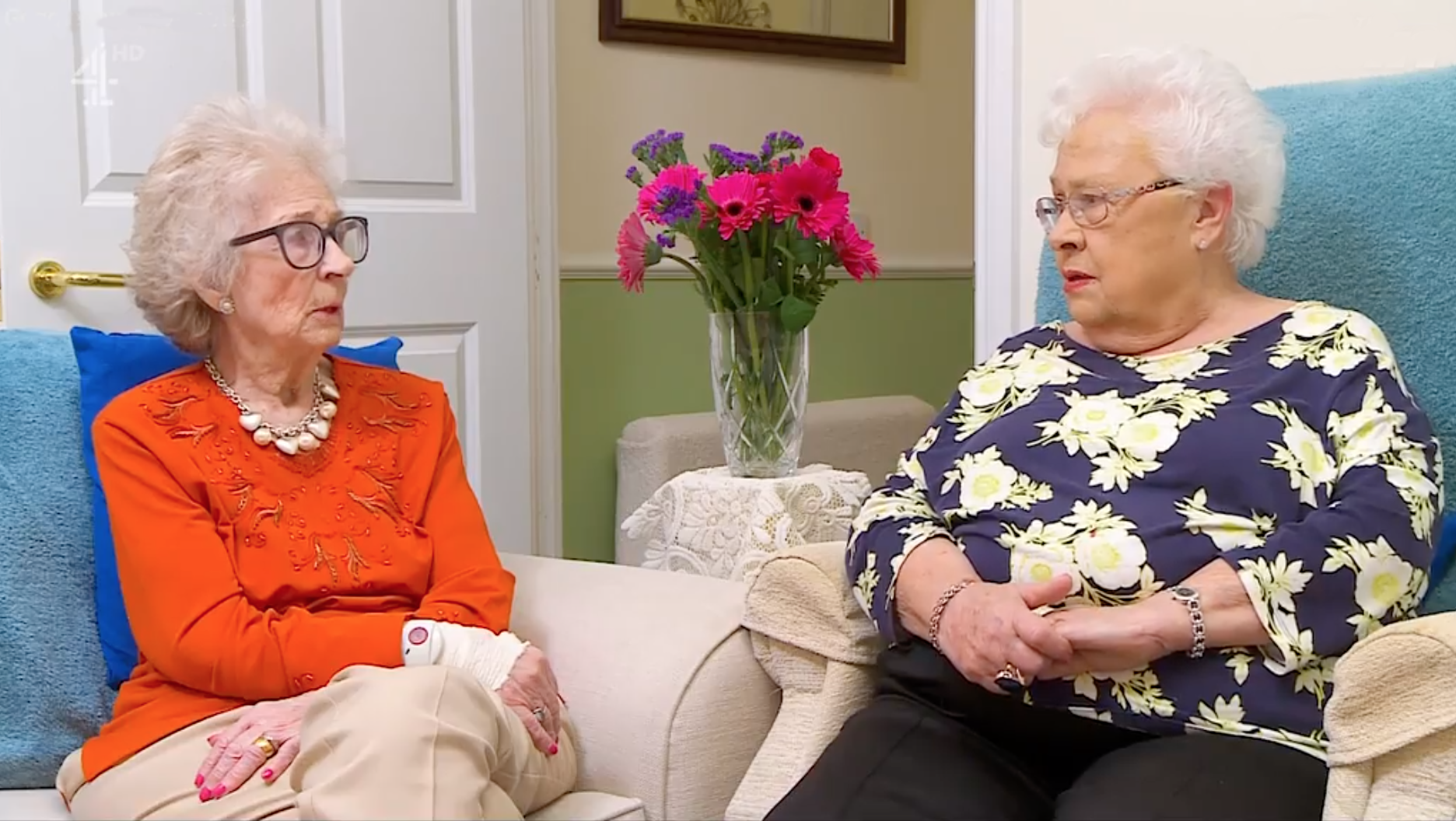 Gogglebox Mary and Marina Channel 4