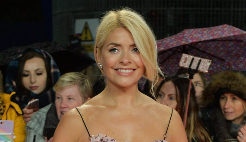 Holly Willoughby squirms as she's grilled about experimenting with women on Celebrity Juice