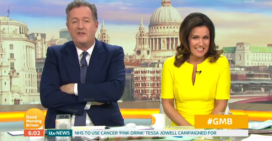 Piers Morgan slams 'pathetic and spineless' BBC after GMB Bafta loss