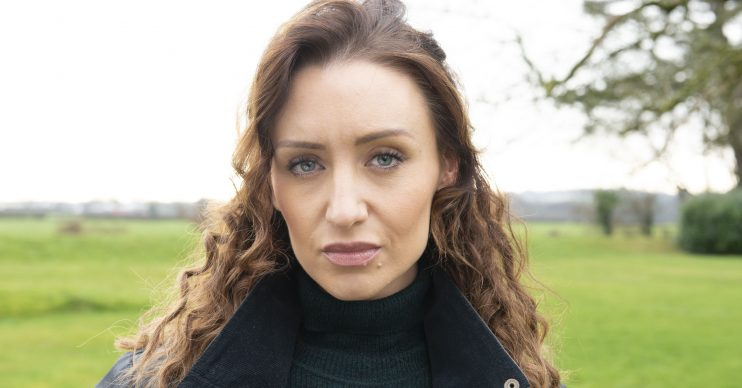 Sara (Catherine Tyldesley). Profile. Outside house Credit: Channel 5