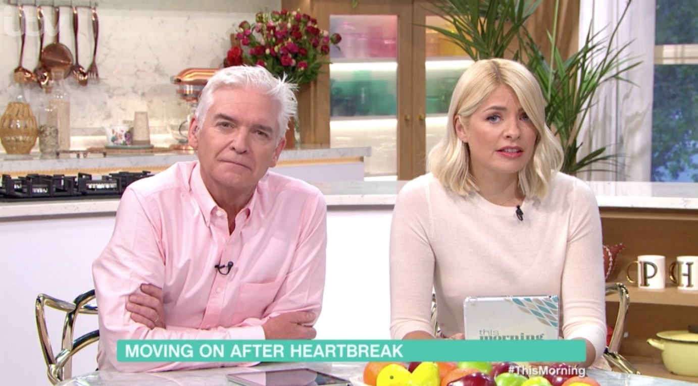 Holly Willoughby comforts heartbroken caller on This Morning after relationship break up