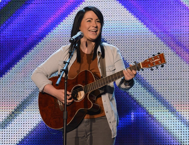Lucy Spraggan was a contestant on the X Factor in 2012 (ITV/PA)