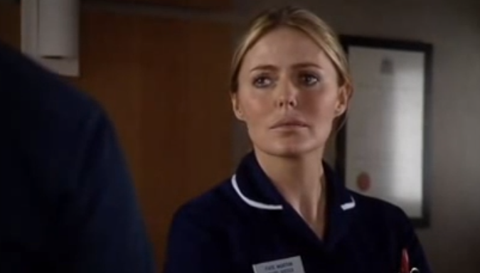 Patsy Kensit and Luke Roberts will return to Holby City for special episode