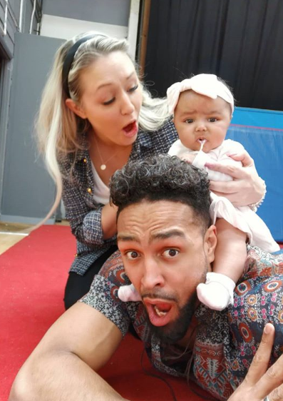 Ashley Banjo family