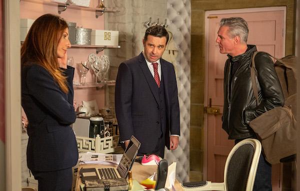 Emmerdale SPOILER: Graham causes trouble between Megan and Frank