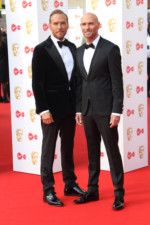 Luke Goss at the BAFTAs