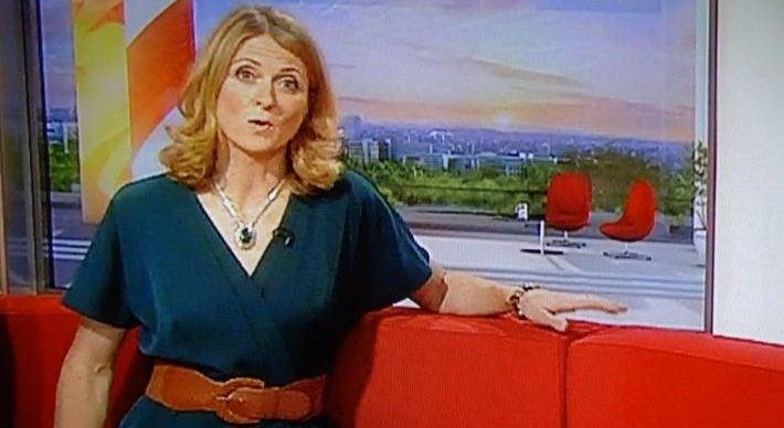 Rachel Burden on BBC BReakfast