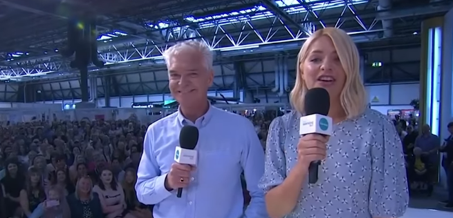 This Morning Live - Phillip Schofield and Holly Willoughby