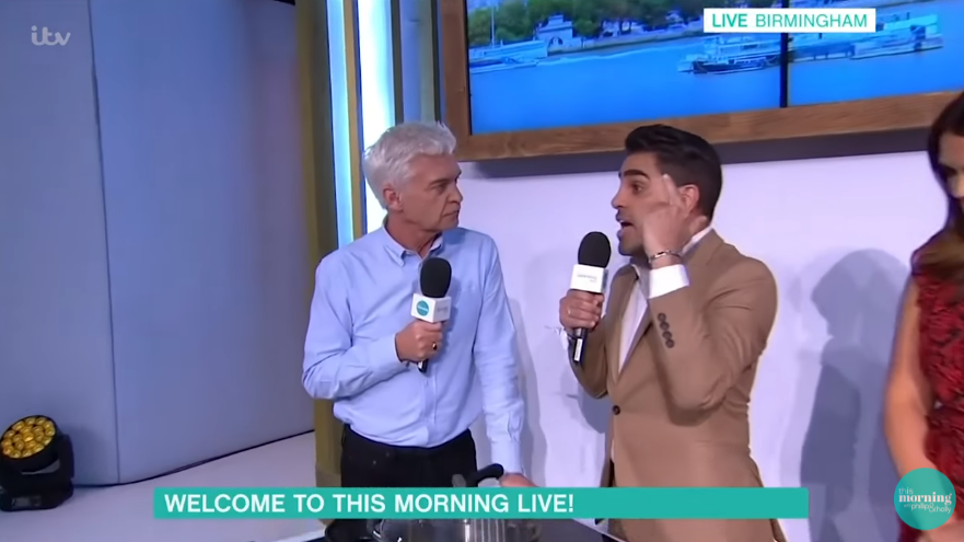 This Morning Live - Phillip Schofield and Dr Ranj
