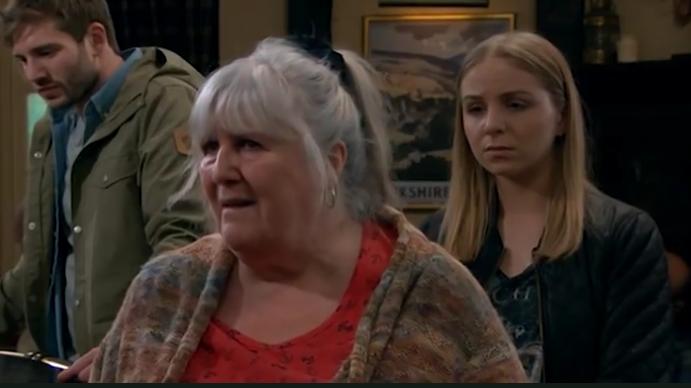 Lisa Dingle takes on Kim Tate