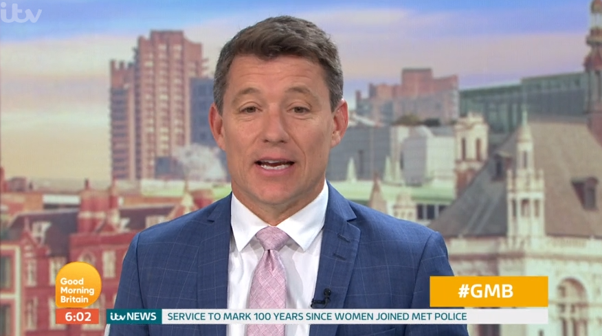 GMB viewers in hysterics as Ben Shephard makes embarrassing name blunder