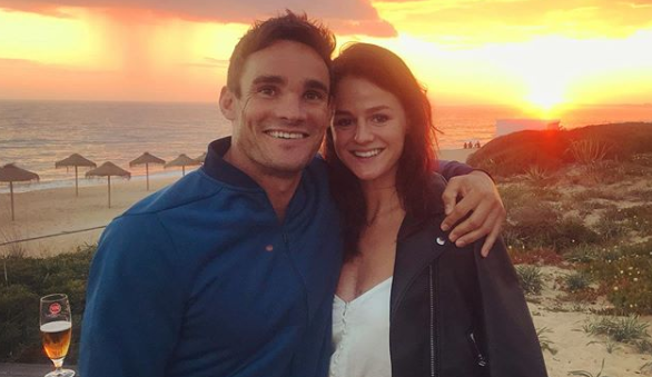 Dancing On Ice star Max Evans announces he's engaged to girlfriend