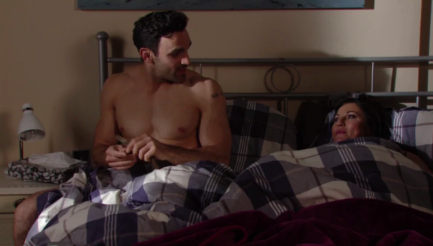 EastEnders viewers spot something odd about Kush and Kat's sex scene