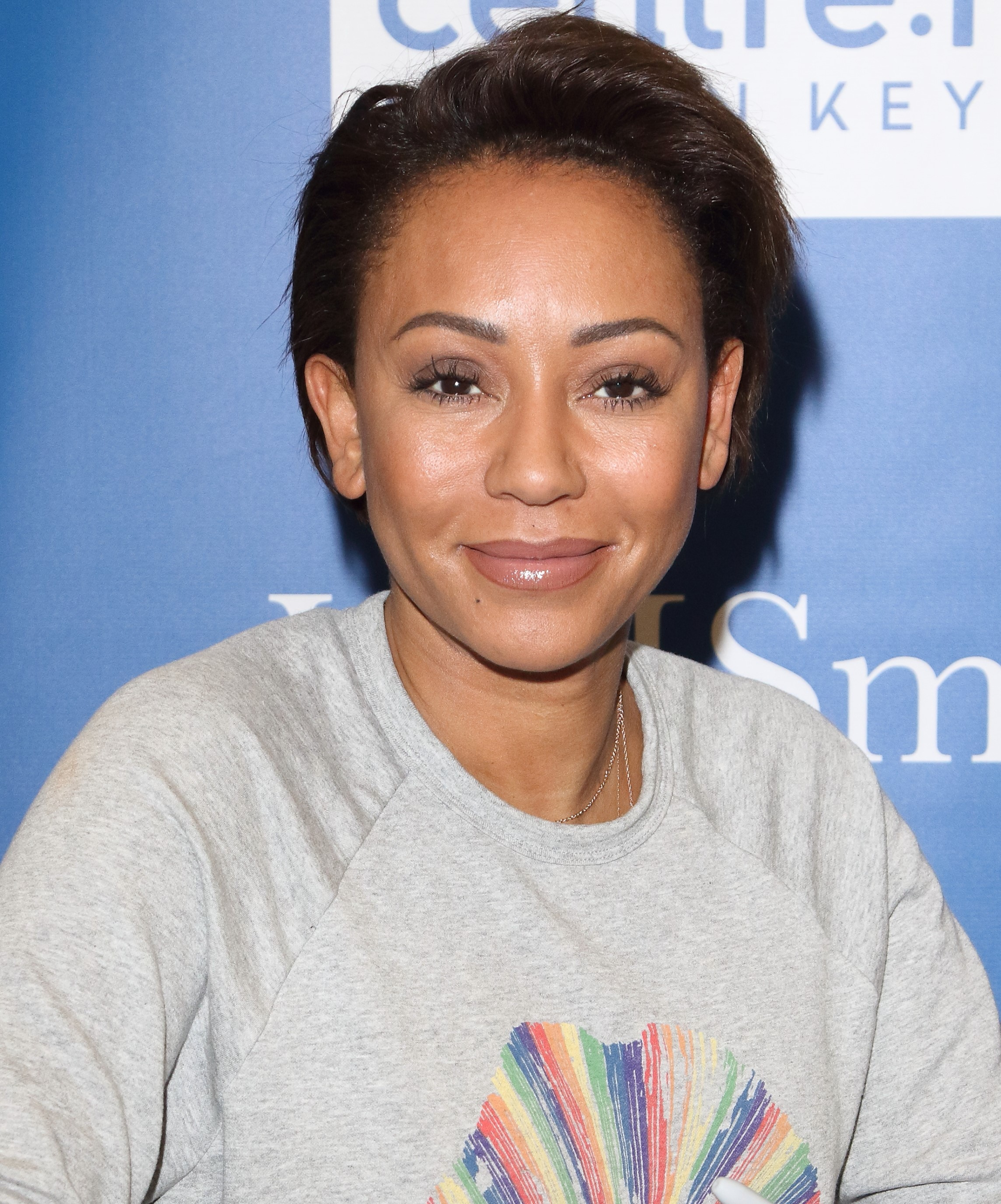 Spice Girl in the hospital: Mel B couldn't see anything