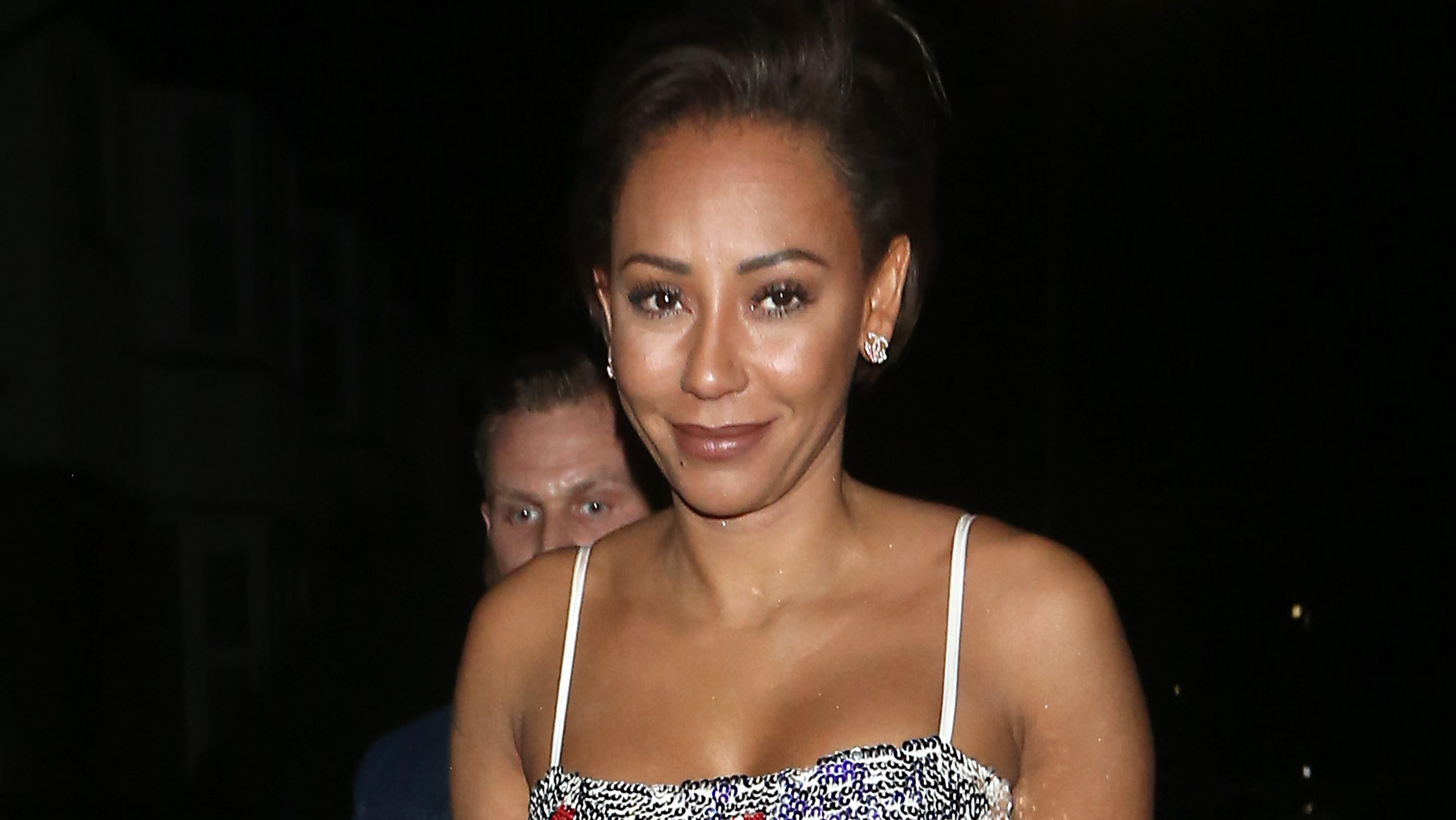 Mel B rushed to hospital after losing sight in one eye