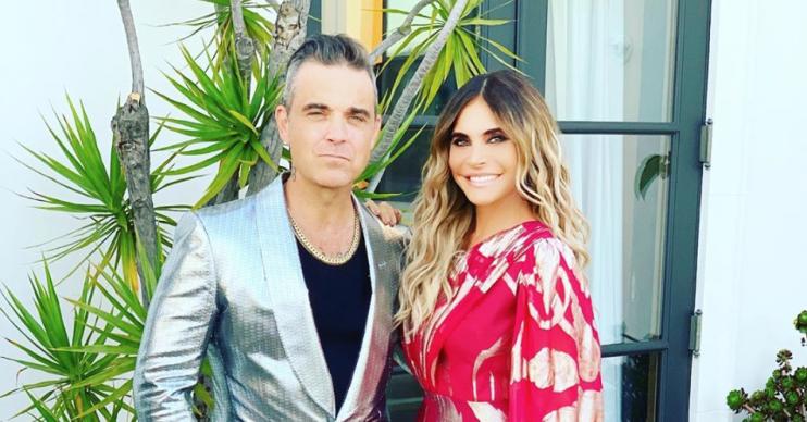 Robbie Williams Ayda Field Instagram