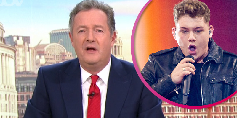 Piers Morgan slams Eurovision's Michael Rice for finishing last