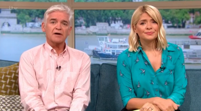 Phillip Schofield and Holly Willoughby in 'bust-up over magazine cover'