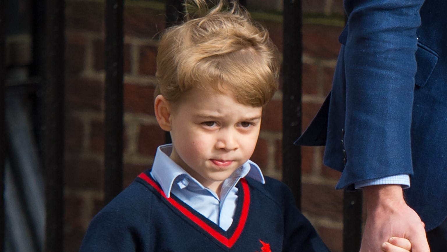 Prince George's incredibly sweet response as William asks him question about mum Kate